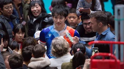 Masahiro Yanagida von den United Volleys