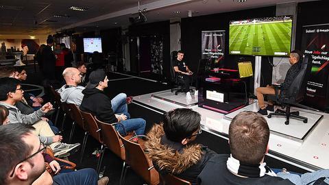 Bei der eAdler Challenge in Frankfurt konnten sich Fifa-Spieler für den Eintracht-Kader qualifizieren.