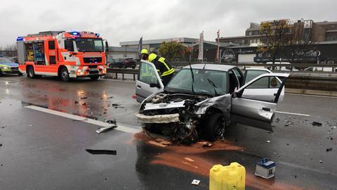 Unfall auf der A661