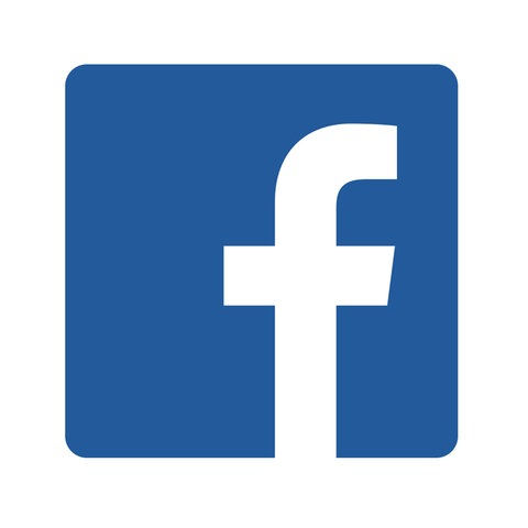 Facebook-Logo, hessenschau.de-Logo
