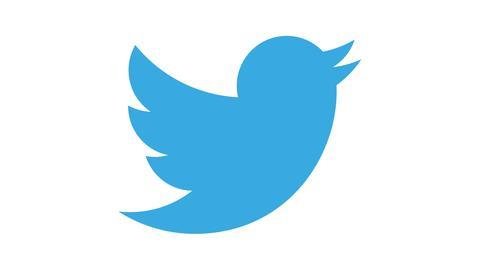 Twitter-Logo, hessenschau.de-Logo