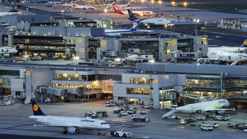 Flughafen Frankfurt Tag Bild