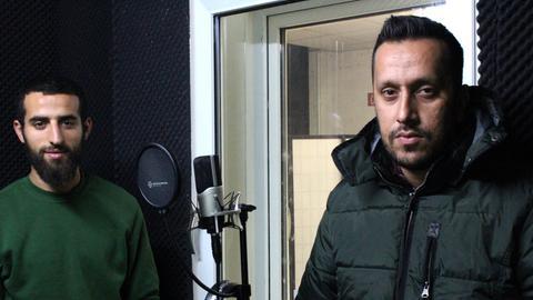 Hessencheck: zwei Rapper aus Raunheim