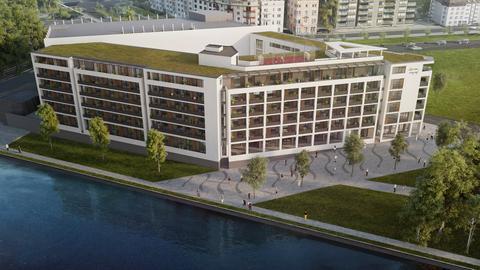 ... Single-Wohnung mit Balkon und Fernblick auf die EZB... in Frankfurt