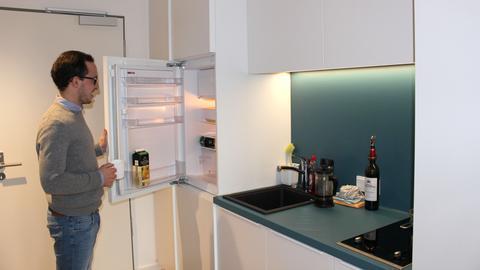 Nikolas Schwald Mikroappartment Küche