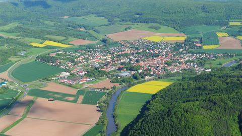 Wanfried Luftaufnahme