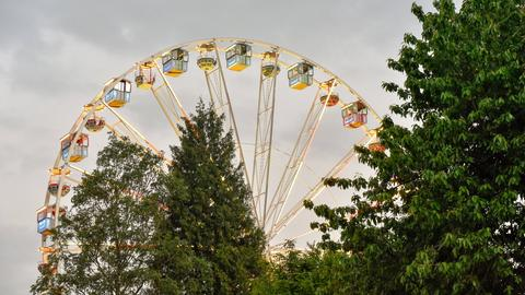 Riesenrad auf dem Hessentag