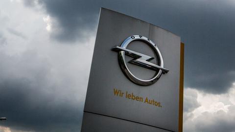 Opel Symbol in Rüsselsheim