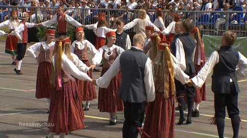 Europeade mit 5.000 Tänzern