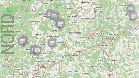 Dolles Dorf 2016 Vorrunde 1 Karte Nordhessen
