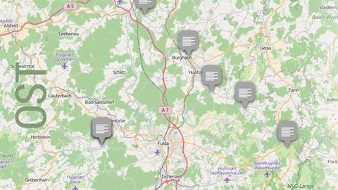 Dolles Dorf 2016 Vorrunde 2 Karte Osthessen