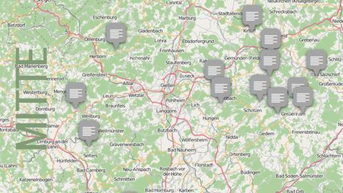 Dolles Dorf 2016 Vorrunde 3 Karte Mittelhessen