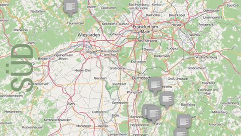 Dolles Dorf 2016 Vorrunde 4 Karte Südhessen