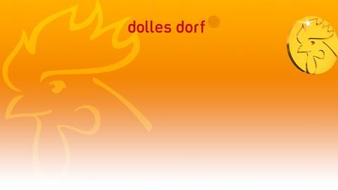 Dolles Dorf-Hintergrund-Banner