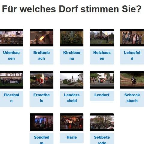 Dolles Dorf des Jahres Voting Nordhessen
