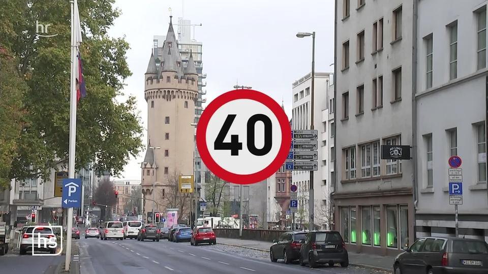 Verkehr Frankfurt Innenstadt