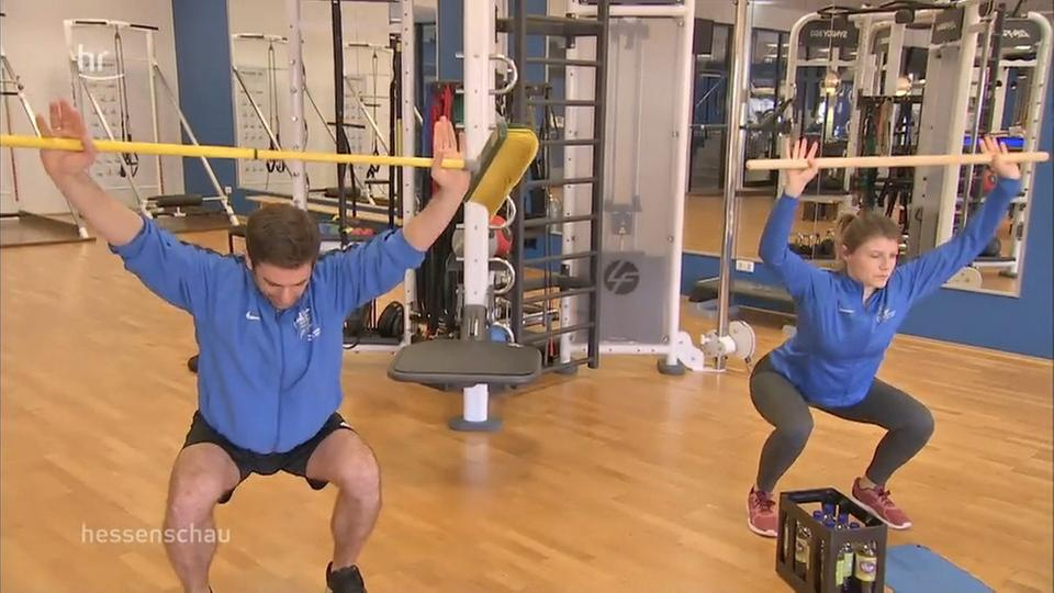 Corona-Gymnastik für zuhause