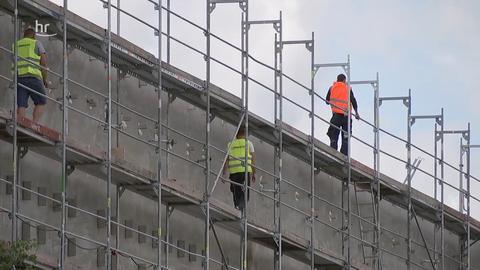 Hessenschau Kompakt 07.10.2019 - 12:45 - Baustelle