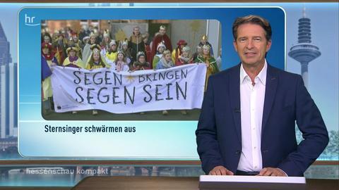 hessenschau kompakt - 16:45 Uhr - 06.01.2020
