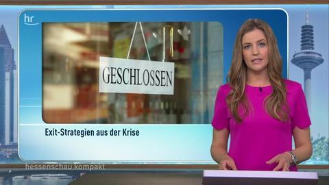 hessenschau kompakt von 16:45 Uhr vom 08.04.2020