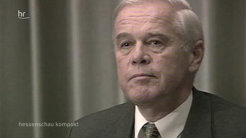 Rückblick - CDU-Spendenaffäre vor 20 Jahren