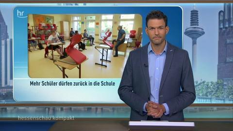 hessenschau kompakt von 16:45 Uhr vom 18.05.2020