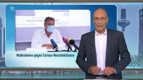 hessenschau kompakt von 16:45 Uhr vom 24.08.2020