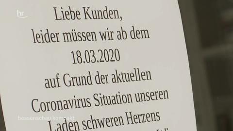 hessenschau kompakt von 16:45 Uhr vom 27.03.2020
