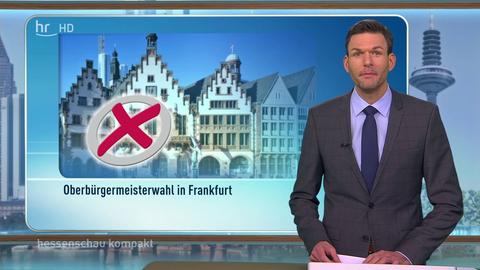 Ergebnis des ersten Wahlgangs der OB-Wahl in Frankfurt