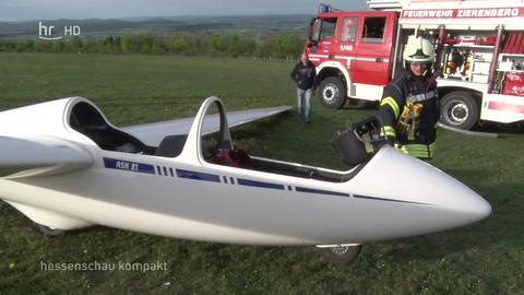 Jogger bringt Segelflieger zum Absturz