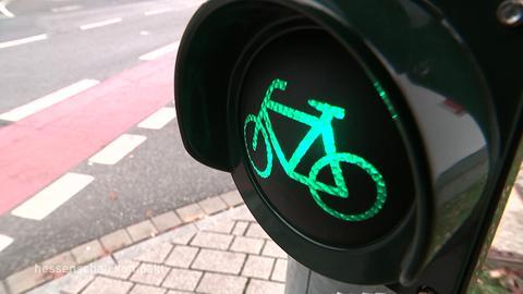 Fahrrad Ampel grün Sujet