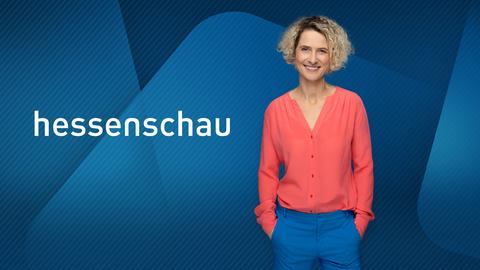 Hessenschau-Moderatorin Kristin Gesang