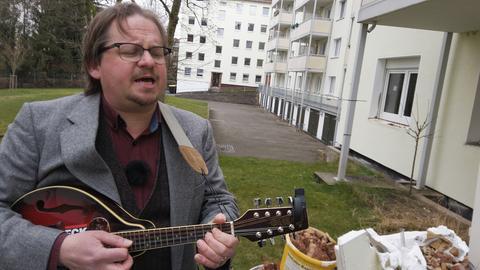 Axwel - Künstler aus der hessenschau-Serie Poesiealbum