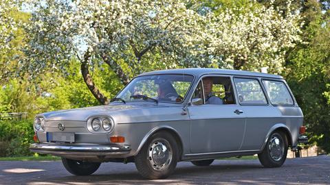 """VW 411 (Spitzname """"Nasenbär"""")"""