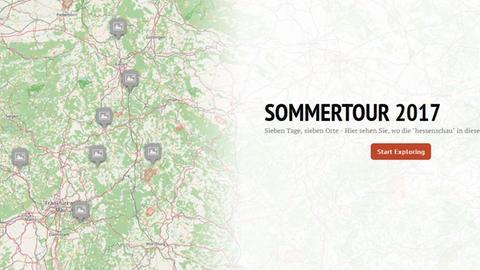 """""""hessenschau"""" Sommertour 2017"""