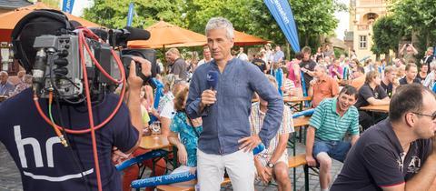 Andreas Hieke auf der Sommertour