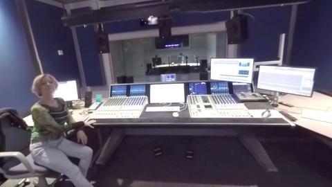 Synchronstudio der hessenschau - 360 Grad Blick hinter die Kulissen
