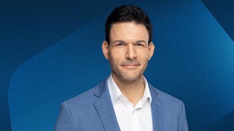 hessenschau-Moderator Roland Boros