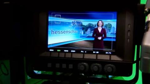Das virtuelle Hessenschau-Studio