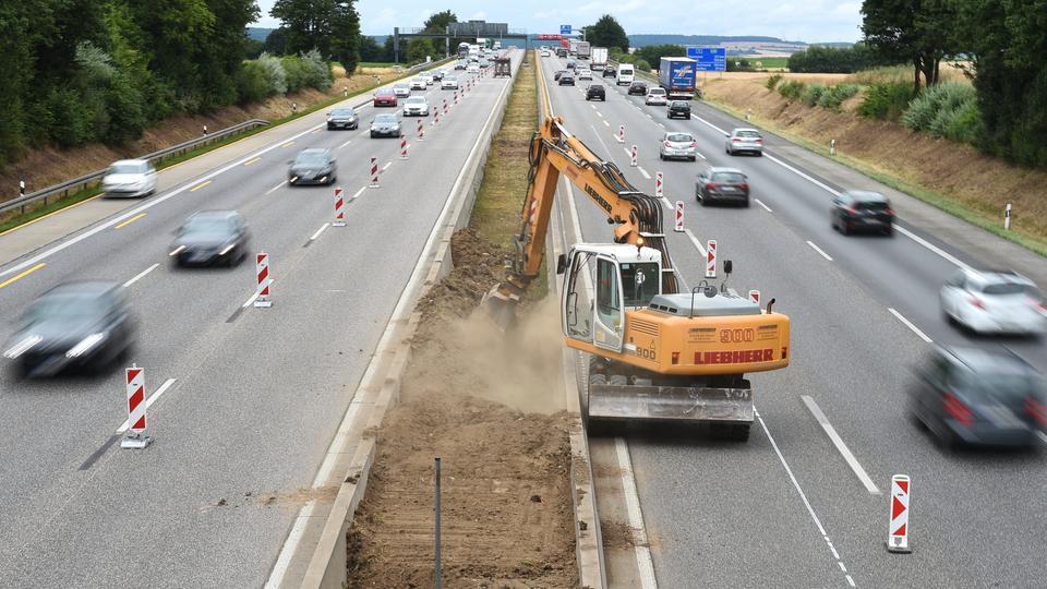 Verkehrslage Hessen
