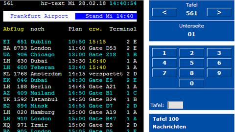 Screenshot Tafel 561 Abflug Flugplan hr-text