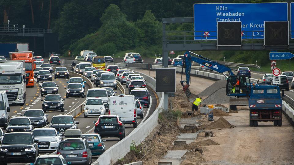 Verkehrslage In Hessen