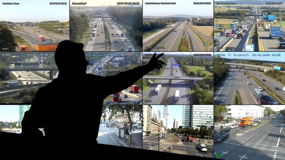 Verkehrscam Hessen
