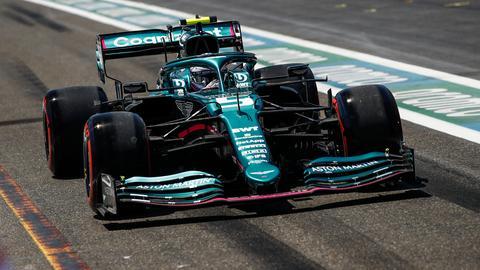 Vettel in Baku