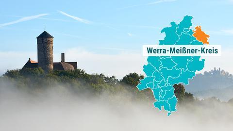 Burg Ludwigstein im Nebel
