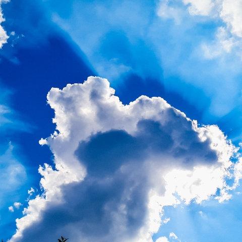 Wolken vor der Sonne