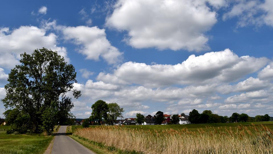 Wolkenreicher Himmel
