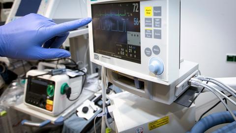 Technisches Gerät im Kankenhaus