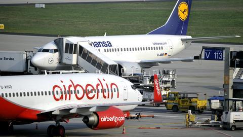 Lufthansa ist bereits in Verhandlungen mit Air Berlin.