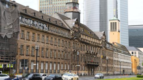 Das alte Polizeipräsidium in Frankfurt steht seit 15 Jahren leer.